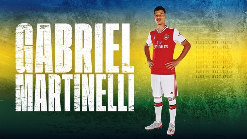 Gabriel Martinelli menjadi pemain rekrutan pertama Arsenal di bursa transfer musim panas 2019, Selasa, 2 JUli 2019 (foto: Istimewa)