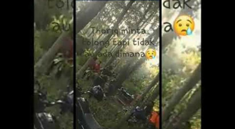 Pendaki hilang di Bondowoso Thoriq Rizky mulai dikaitkan dengan hal mistis (Foto : Istimewa)