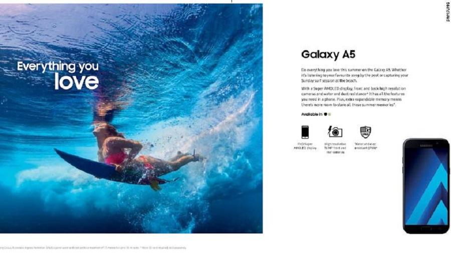 Oleh lembaga konsumen Australia, iklan Samsung dianggap menyesatkan dan menolak bertanggungjawab saat terjadi kerusakan terkait hal itu. (Foto: theguardian.com)