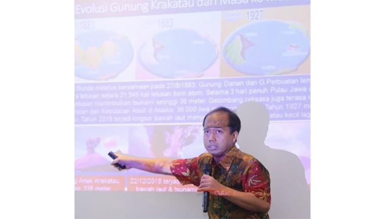 Kepala Pusat Data Informasi dan Humas Badan Nasional Penanggulangan Bencana (BNPB) Sutopo Purwo Nugroho (Sumber foto: Instagram)