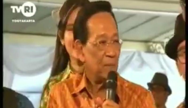 Raja Jogja, Sri Sultan Hamengku Buwono X ternyata humoris, lho (Foto : Istimewa)