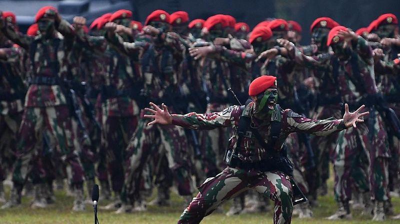Kopassus, pasukan Baret Merah yang ditakuti dunia (Foto : Istimewa)