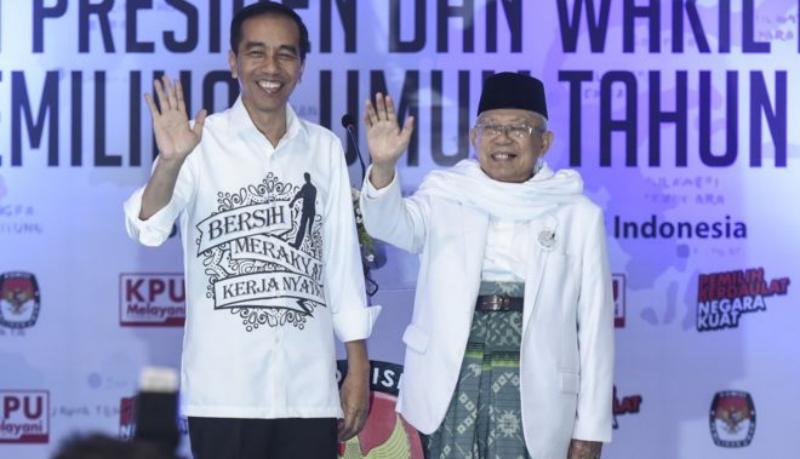 Jokowi dan Ma'ruf Amin bakal dapat pengawalan Polri jelang pelantikan presiden dan wakil presiden 2019-2024 (Foto : Istimewa)