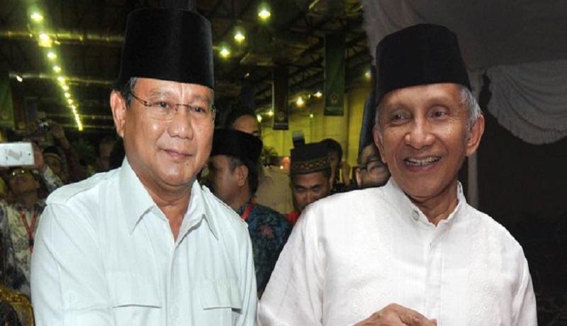 Prabowo bersama Amien Rais (ist)