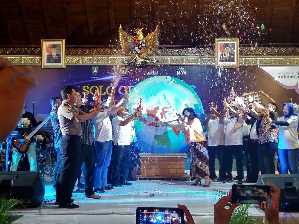 Opening SGS 2019 di Pendapa Gedhe Balai Kota Solo, Kamis (31/1).