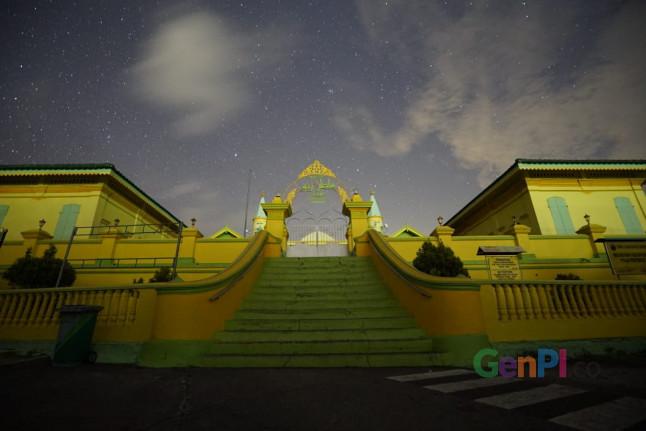 Istana kerajaan Riau di Pulau Penyengat. (Foto: Aan/GenPI.co)
