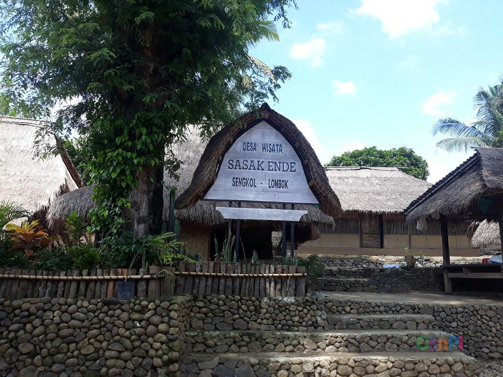 Desa Wisata Sasak Ende. (Foto: Ririn/GenPI.co)