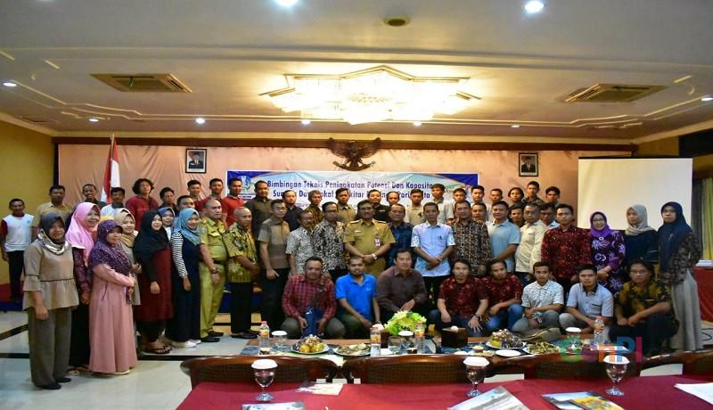 Dinas Kebudayaan dan Pariwisata Provinsi Jawa Timur melaksanakan bimbingan teknis di Hotel Sukowati Ngawi. (Foto; Ariyanto)