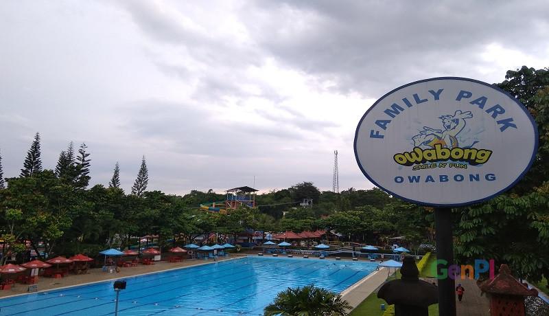 Wisata air Owabong di Purbalingga. (Foto: Ariyanto)