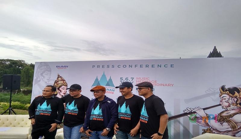 Prambanan Jazz Festival 2019 siap digelar. (Foto: Ariyanto)
