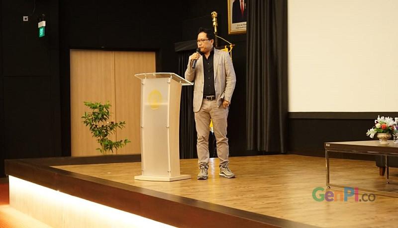 Direktur Utama GenPI.co Auri Jaya.