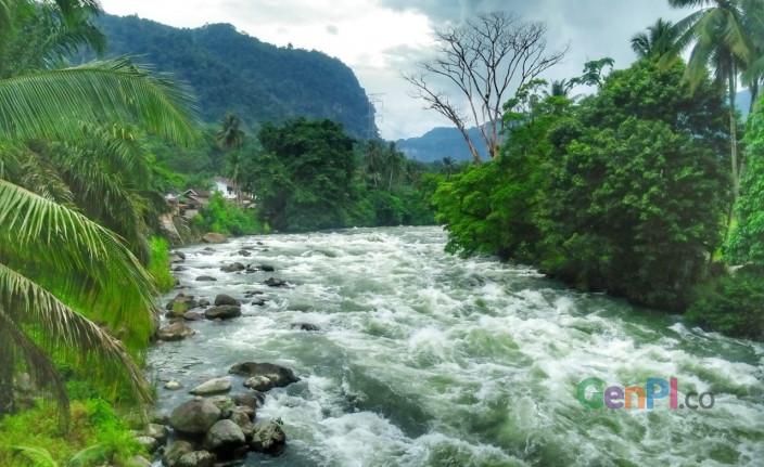 Jeram top 3 di dunia, Sungai Asahan, Toba Samosir, Sumatera Utara.