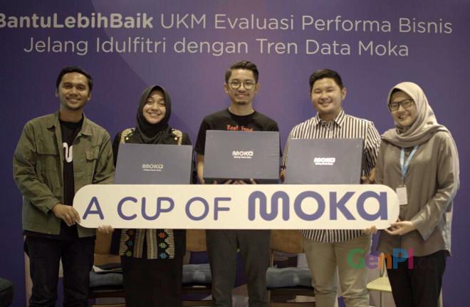 Data driven-inshight tersebut bisa digunakan UKM untuk menyiapkan strategi bisnis. (Foto: Dok. Moka)