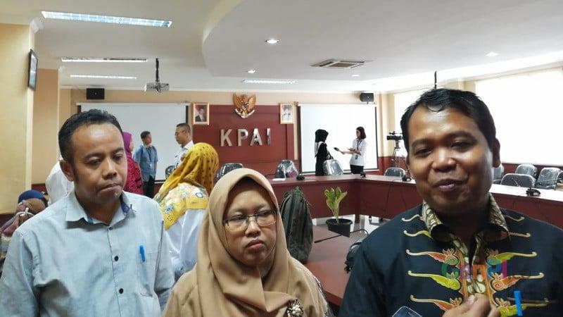 Komisi Perlindungan Anak Indonesia (KPAI) menyatakan adanya dugaan pelanggaran HAM anak pada aksi demo 21-22 Mei 2019 (foto: Robby Sunata)