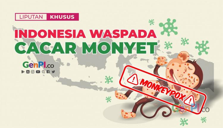 Indonesia Waspada Cacar Monyet
