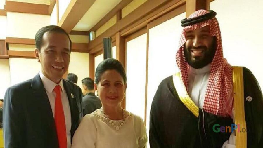 Jokowi dan putera mahkota Arab di KTT G20 (Foto: Muchlis Jr - Biro Pers Sekretariat Presiden)