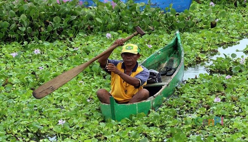 Nelayan Danau Limboto akan menjadi subyek kerjasama Pemerintah Provinsi Gorontalo dan JICA Jepang. Foto: Rosyid Azhar
