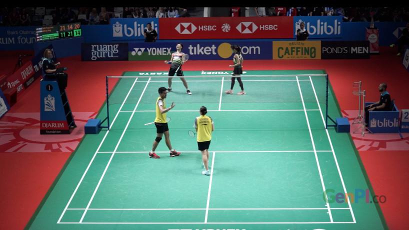 Terima kasih Jojo, Tontowi, dan Winny sudah berjuang di Indonesia Open 2019
